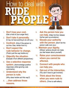 How to Deal with Rude People #HumanResources #CSUDH http://www.aspirecambridge.co.uk/