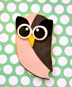 HootSuite cake! Looks great but... too nice to be eaten! =P