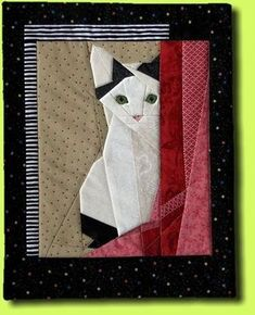images of shy kitten paper pieced quilt block - Saferbrowser Yahoo Image Search Results