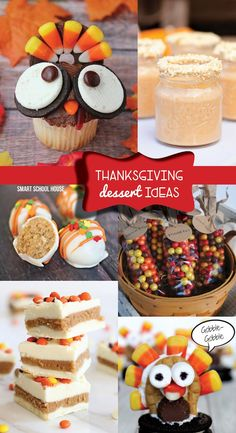 Thanksgiving Dessert Ideas #thanksgiving #baking #dessert #recipes