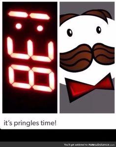 Pringles time
