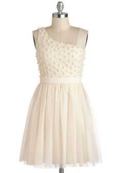 Sugar Pearls Dress, #ModCloth