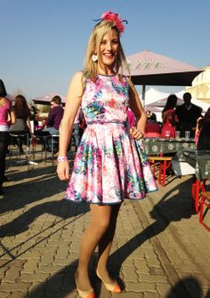 GLAM girls spotted at the Pink Punter event Glam Girl, South Africa, Glamour, Girls, Pink, Vintage, Style, Fashion, Swag