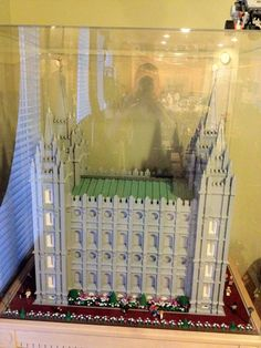 Lego Replica of the Salt Lake City Temple of the LDS Church
