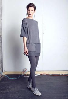 Bodkin Proton Dress, Salvaged Rayon/Jersey, $198