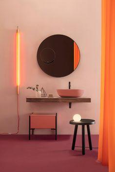Opi, Piano, Interior Styling, Interior Design, Curved Sofa, Bathroom Collections, Bathroom Furniture, Amazing Bathrooms, Decoration