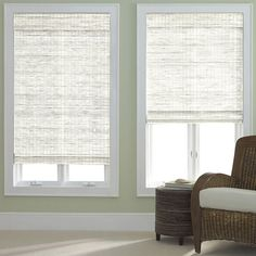 jcp home™ Bamboo Woven Wood Roman Shade - JCPenney