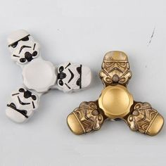 Star Wars Stormtrooper Tri-Spinner Helmet. BUY NOW: https://www.fromouttathisworld.com/products/star-wars-stormtrooper-tri-spinner-helmet