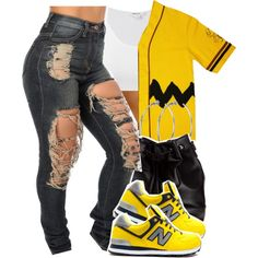 I would rock this fit only for the Charlie brown themed jersey tho:)