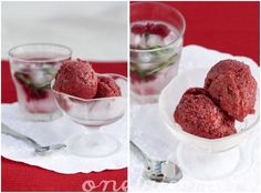 raspberry mojito sorbet