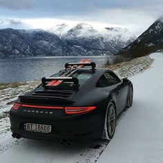 "7,292 Me gusta, 198 comentarios - The World's Hottest Porsches (@911_purists) en Instagram: ""Ski Trip Check out @haute_automotive  @haute_automotive  @haute_automotive  Photo 