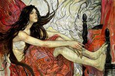 Artodyssey: Rebecca Guay - Rebecca Leveille Guay