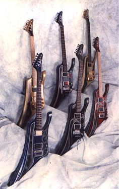 TDL Guitars by Tony De Lacugo - Only 6 Raptor guitars ever made