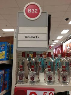 Vodka is for children. Adults drink whiskey or gin.