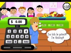 Lunch Lady - Counting Money Game