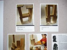 documentation of children's block structures.