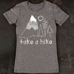 Women's Take A Hike Tee by TrulySanctuary TShirt by trulysanctuary
