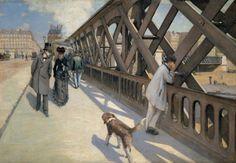 Gustave Caillebotte - The Pont de l'Europe – 1876