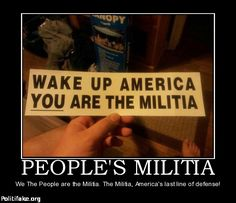"""I ask, sir, what is the militia? It is the whole people...To disarm the people is the best and most effectual way to enslave them."" -George Mason, during Virginia's ratification convention, 1788"
