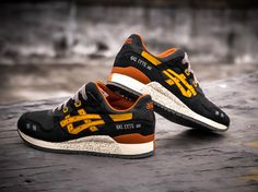 new style 87111 d8430 asics-gl3-black-tan Asics Gel Lyte Iii, Trainers, Sneakers,