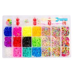 Loom Band Box x 4200 (Including Loom & Hook)
