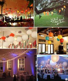 lampions boule lanterne chinoise