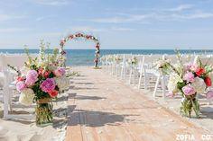 Nautical Galley Beach Wedding