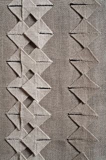 Susie Taylor   Origami weaving : Crane Wife #2 Woven as one piece, then folded