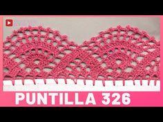 Crochet Collar Pattern, Crochet Edging Patterns, Crochet Lace Edging, Filet Crochet, Diy Crochet, Crochet Doilies, Crochet Stitches, Crochet Boarders, Crochet Decoration
