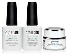 CND Brisa Lite Removable Smoothing Gel System#www.nagelstudio-excellence.nl#
