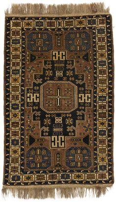 Shirvan - Caucasus Caucasian Carpet 186x121