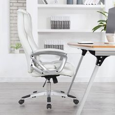 Orren Ellis Bally Executive Chair & Reviews | Wayfair Best Office Chair, Executive Office Chairs, Best Desk, Chair Upholstery, Upholstered Dining Chairs, Bankers Chair, Mesh Chair, Conference Chairs, Chair Height