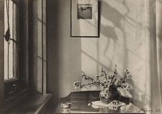 Olive Cotton (Australia, 1911-2003), Interior (my room), 1933.