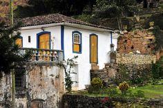 Jardim da Casa dos Contos-Ouro Preto-Minas Gerais-Brasil