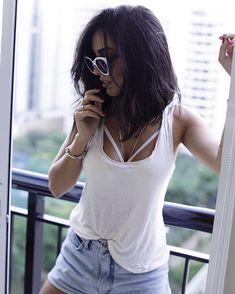 JADE SEBA (@jadeseba) • Fotos e vídeos do Instagram Pretty Hairstyles, Bob Hairstyles, Hair Color And Cut, Fashion Quotes, New Hair, Hair And Nails, Cat Eye Sunglasses, Hair Inspiration, Hair Makeup