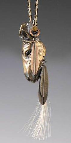 Horse Jewelry, Animal Spirit Jewelry, Handcrafted horse Pendant