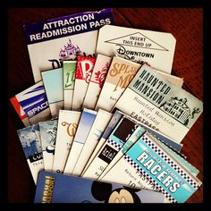 Fastpass Complete Collection by colonelchi, via Flickr