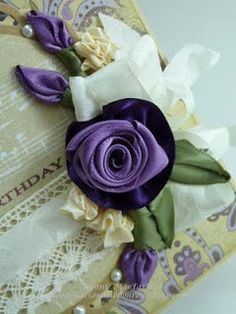 Paper Pleats and Ribbon Roses