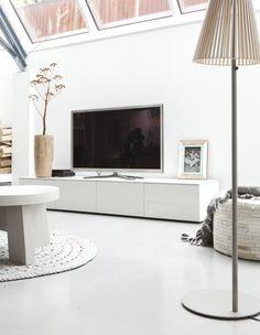 wit televisiemeubel