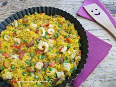 Paella cu fructe de mare Paella, Fried Rice, Risotto, Cooking, Ethnic Recipes, Drinks, Kitchen, Drinking, Beverages