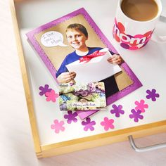 Make mom a gift she'll truly enjoy this Mother's Day with a sweet DIY photo card holding a Michaels gift card.