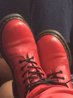 My red docs- because I love them lol