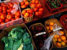 """""""Farm Produce at a Local Farmers Market"""" by Raymond Gehman, from http://www.artphotowalldecor.com/rustic-wall-decor.shtml"""