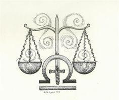 Libra by carriephlyons on DeviantArt – leo constellation tattoo Libra Scale Tattoo, Libra Zodiac Tattoos, Libra Constellation Tattoo, Libra Symbol, Libra Tattoo, Lawyer Tattoo, Balance Tattoo, Libra Art, Signo Libra