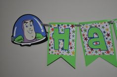 Toy Story Birthday Banner by craftingwithkiddos on Etsy, $20.00