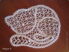 Поделка изделие Плетение на коклюшках Котёнок -   Нитки