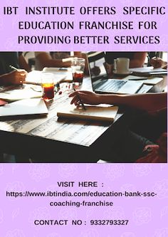Get proper pportunity for BANKING SECTOR through IBT: Why choose educational franchise as a business ave. Starting A Business, Business Planning, Education Franchise, Franchise Business, Business Opportunities, Get Healthy, Work Hard, Coaching, Investing