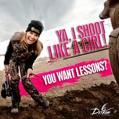 """AJ Gall of Legendary Whitetails recently wrote the blog """"10 Rules for Women Who Hunt with their Man (link below). Ginger Thomas read it and decided to write this comical response to his """"Rules"""" by creating her own rules for men hunting with women... Check it out and let us know what you think!  http://community.deergear.com/…/10-rules-for-women-who-hun…/"""