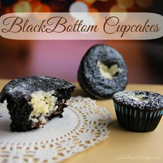 Black Bottom Cupcakes Recipe featuring LifeOiL, Delicious Holiday cupcake recipes! #cupcakes #baking #Christmascupcakes #blackbottomcupcakes #filledcupcakes