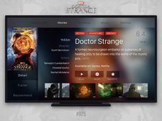 #Daily UI #025 - Tv App by Nikolay Borisov